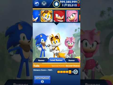🎮 MOD APK - Sonic Dash 2: Sonic Boom v1 7 17 Unlimited Red Star