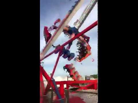 Ohio State Fair Crash KMG Afterburner (Fire Ball) 2017
