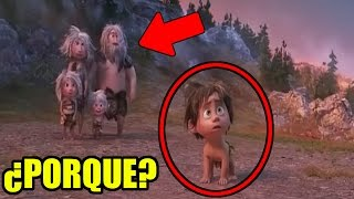 MISTERIOS: ¿Porque la familia de Spot tiene el pelo blanco y Spot no en Un Gran Dinosaurio?