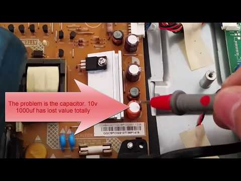 Philips 22pfl3507h Led Tv Repair No Led Power