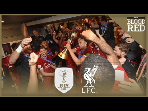 Inside Liverpool's Dressing Room As FIFA Club World Cup CHAMPIONS