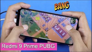 Redmi 9 Prime PUBG Mobile Gaming with FPS Test & Heating | Graphics Settings & Gameplay Hindi