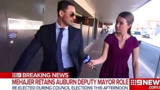 Controverial Auburn deputy mayor Salim Mehajer re elected