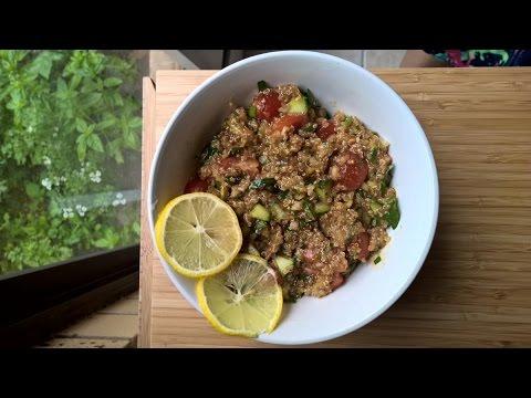 Vegan Quinoa Salad With Miso Dressing