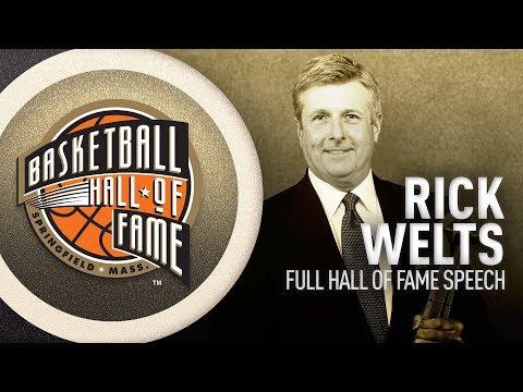 Rick Welts   Hall of Fame Enshrinement Speech