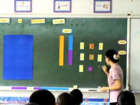 วีดีโอการสอนคณิตฯ ครูสุพัตรา