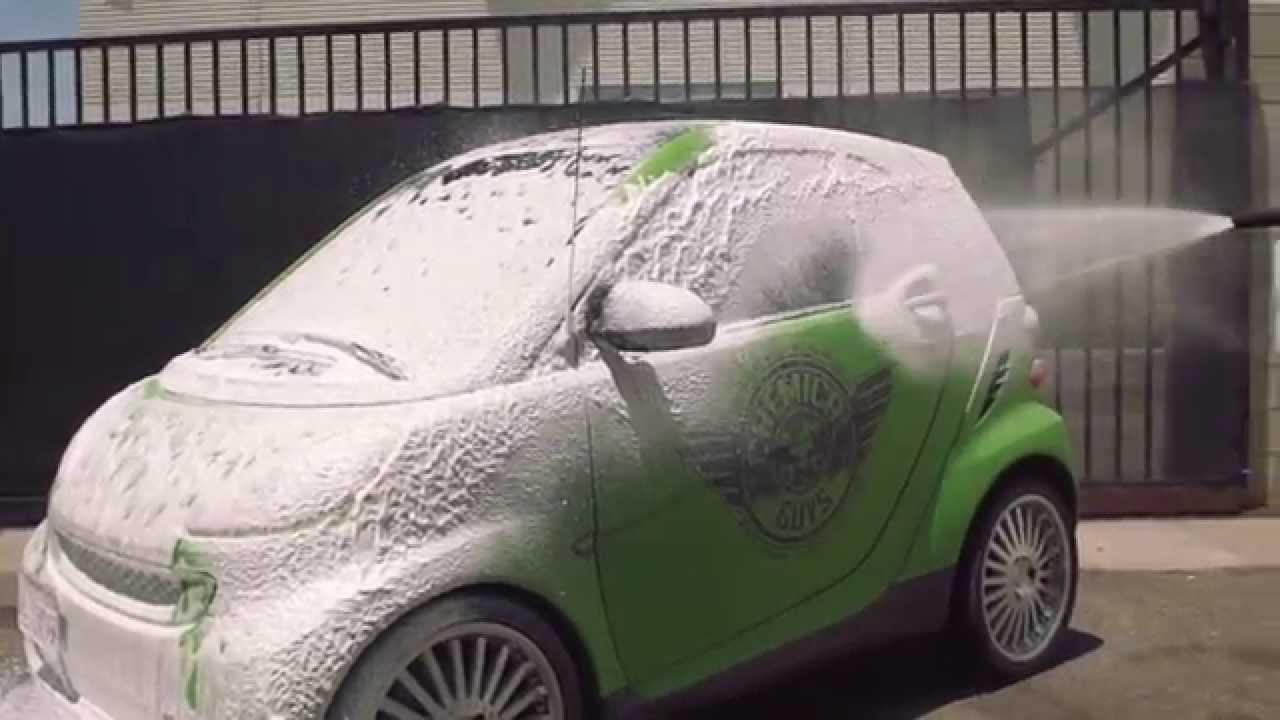 Smart Car Wash >> Smart Car Foam Party Car Wash Chemical Guys