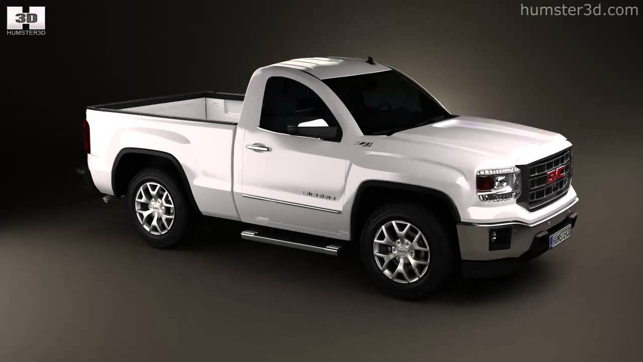 Gmc Sierra Single Cab 2013 By 3d Model Store Humster3d Com