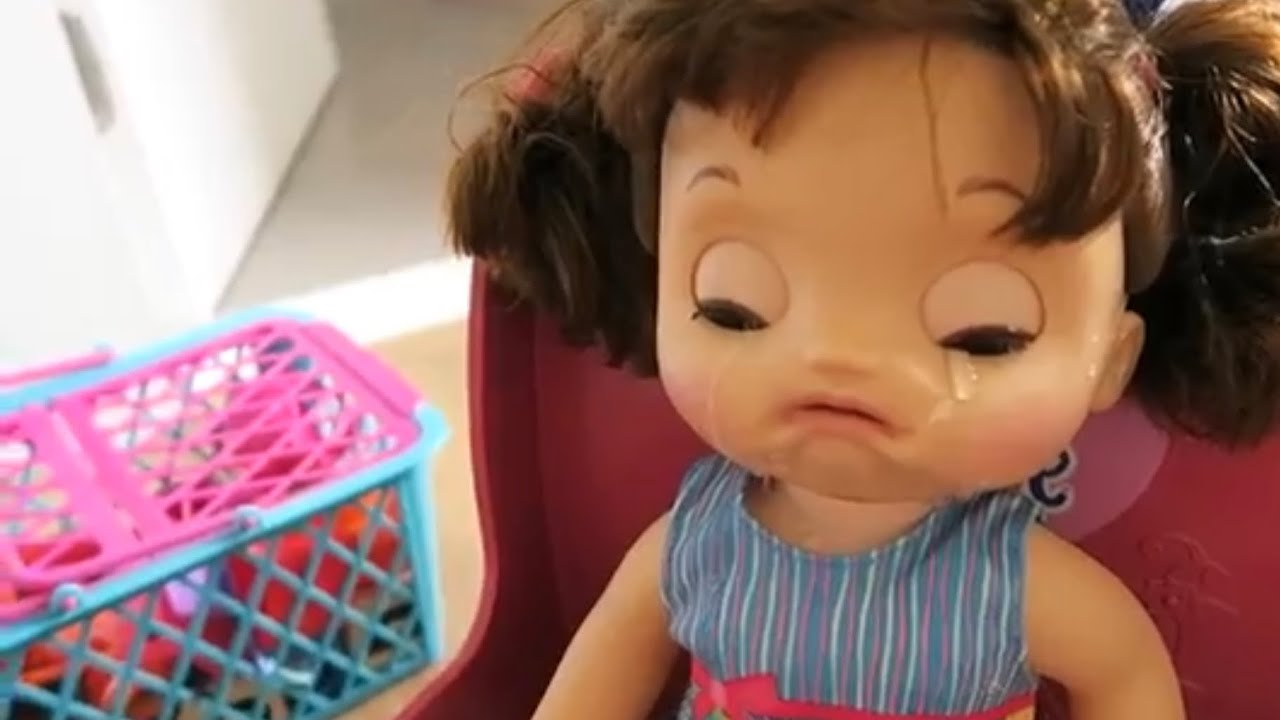 Baby Alive Doces Lagrimas Brinquedonaotemgenero Youtube