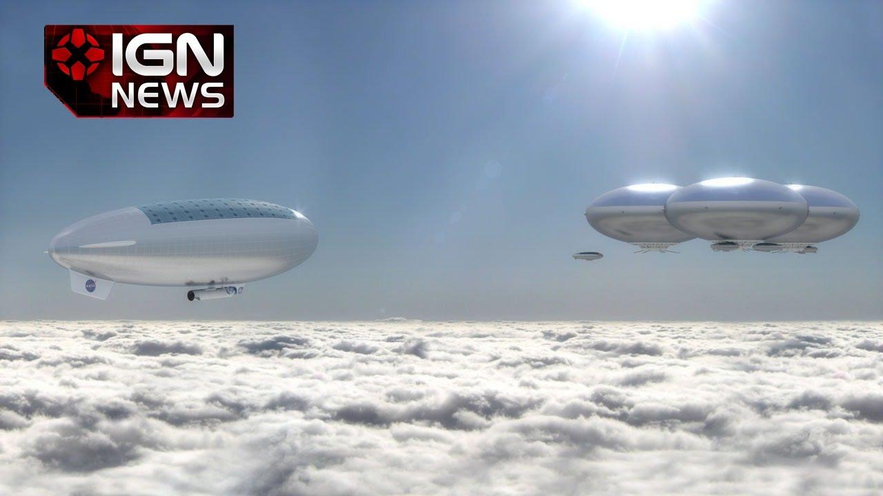 NASA Proposes Real Life Cloud City Above Venus - IGN News ...