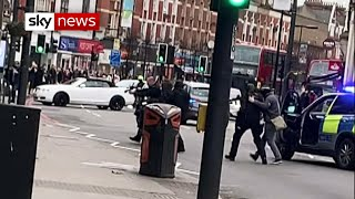 'Confusion' at scene of south London stabbing