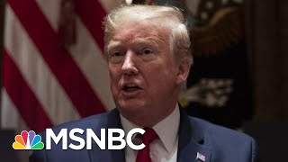 Instead Of Leadership, Trump Has 'Only Fanned The Flames Of Hate' | Andrea Mitchell | MSNBC
