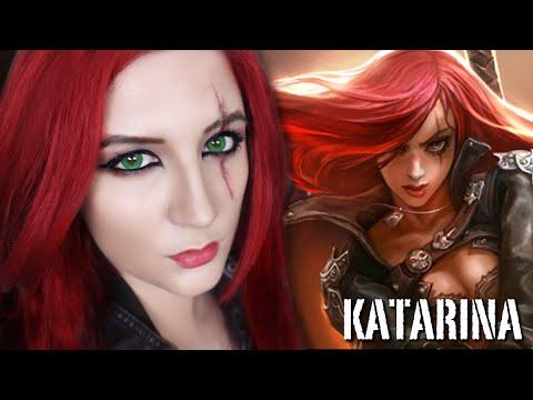 KATARINA SCAR & MAKEUP TUTORIAL - League Of Legends