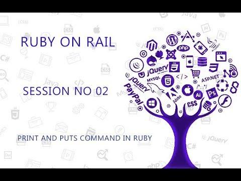 Ruby Programming Tutorial 2 Print And puts