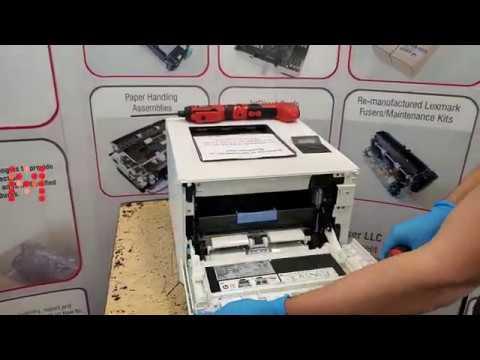 Installing The Transfer Belt In The HP M452 M377 M477 M454 M479 Laser Printer RM2-6454
