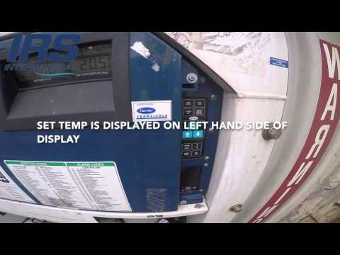 How to program you Reefer Container Temperature, Humidity