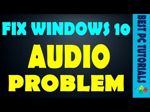 Fix Windows Audio Sound Problem