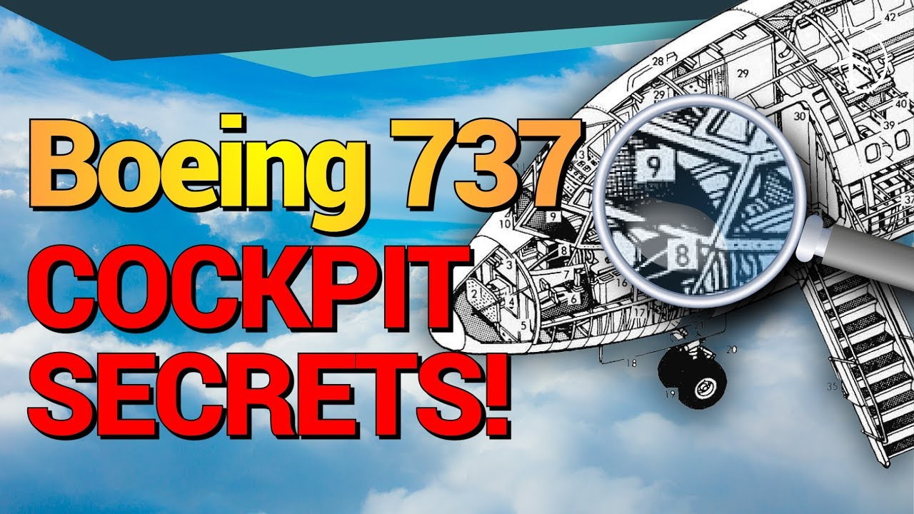 Boeing 737 Cockpit secrets!