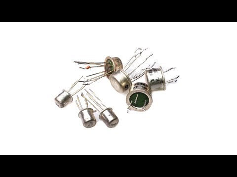 White metal transistors - Gold recovery
