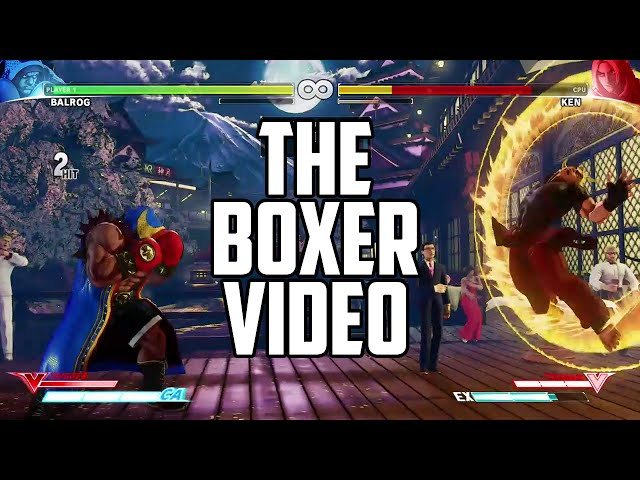 16da6640e Street Fighter V: Balrog arrives   Red Bull