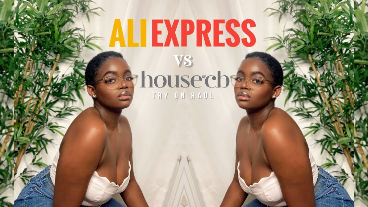 aliexpress vs. house of cb | HOUSE OF CB DUPES | aliexpress haul