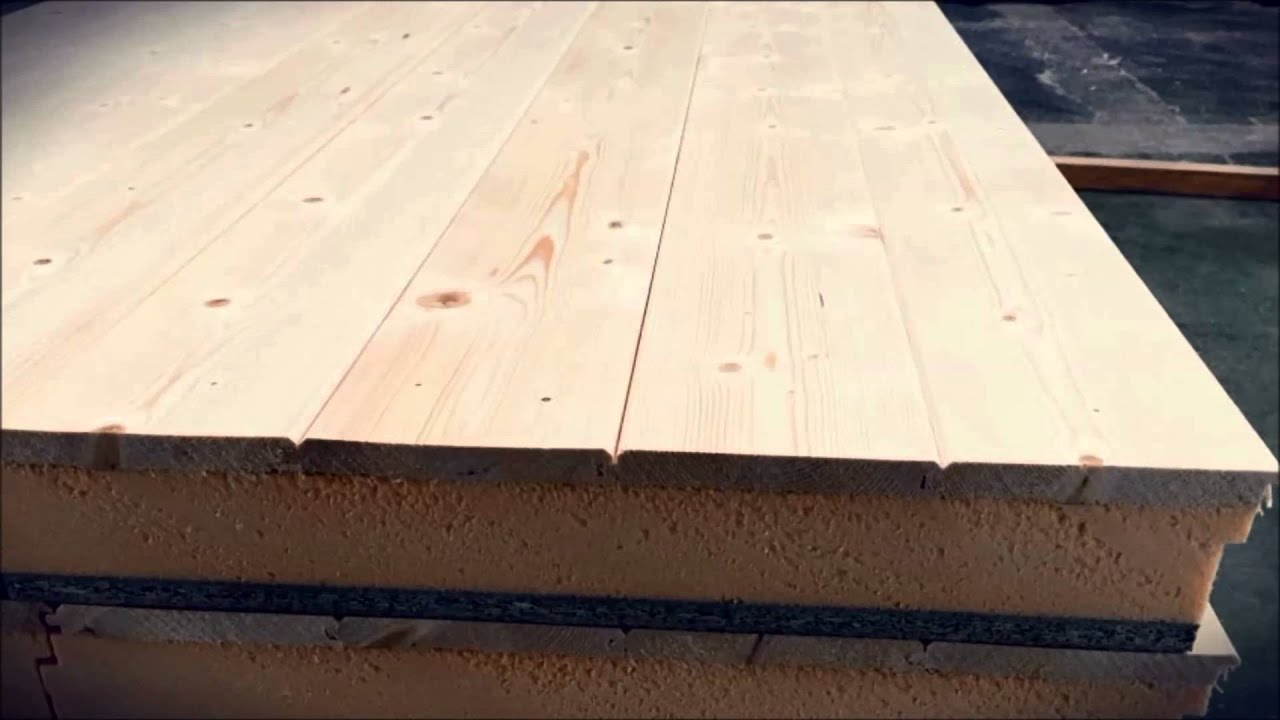 Panel sandwich tarima de madera lopezpanel lopanel youtube - Panel sandwich de madera ...