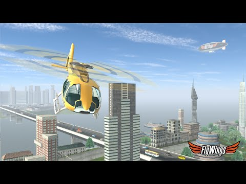 Helicopter Flight Simulator 2015 for Android iPhone iPad iOS
