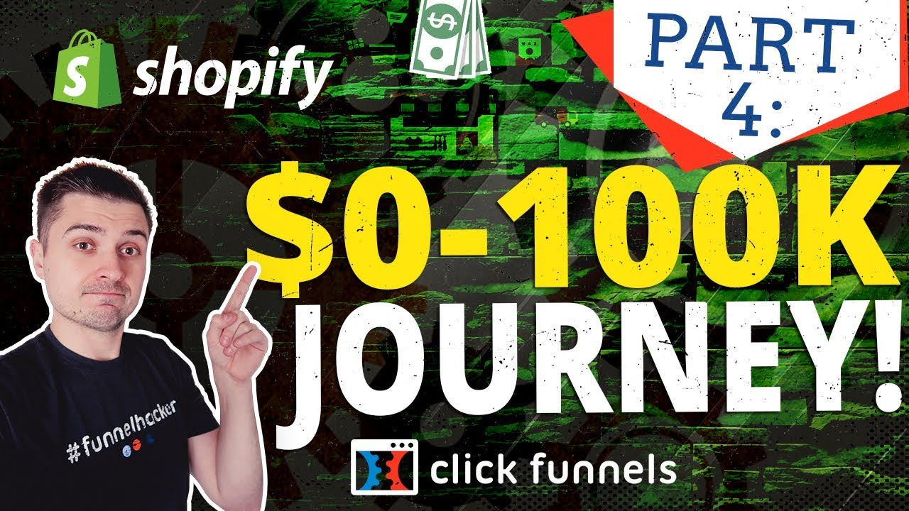 Day 4 | Clickfunnels VS Shopify Challenge: $0 To $100K Journey | Dropshipping
