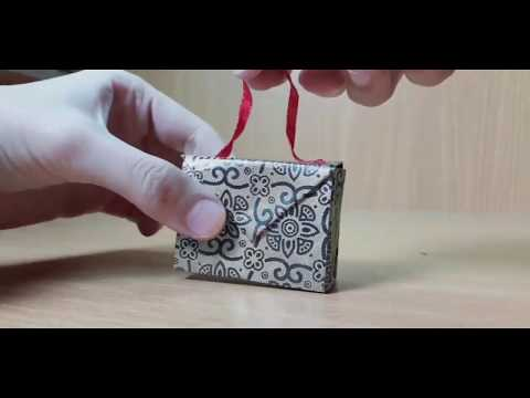 DIY Paper Gift Box | Easy To Make Paper Briefcase Gift Box | DIY Crafts