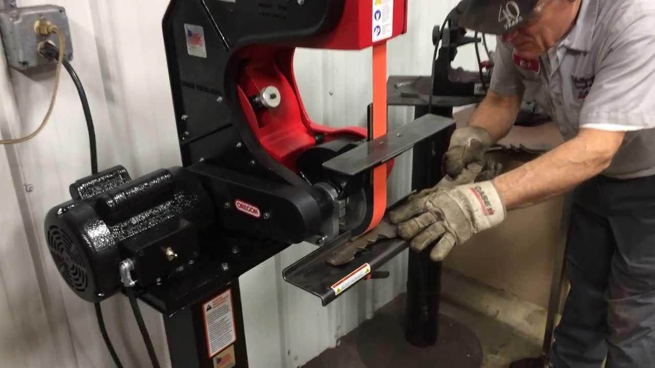 New Super Fast Mower Blade Sharpener At Wellington