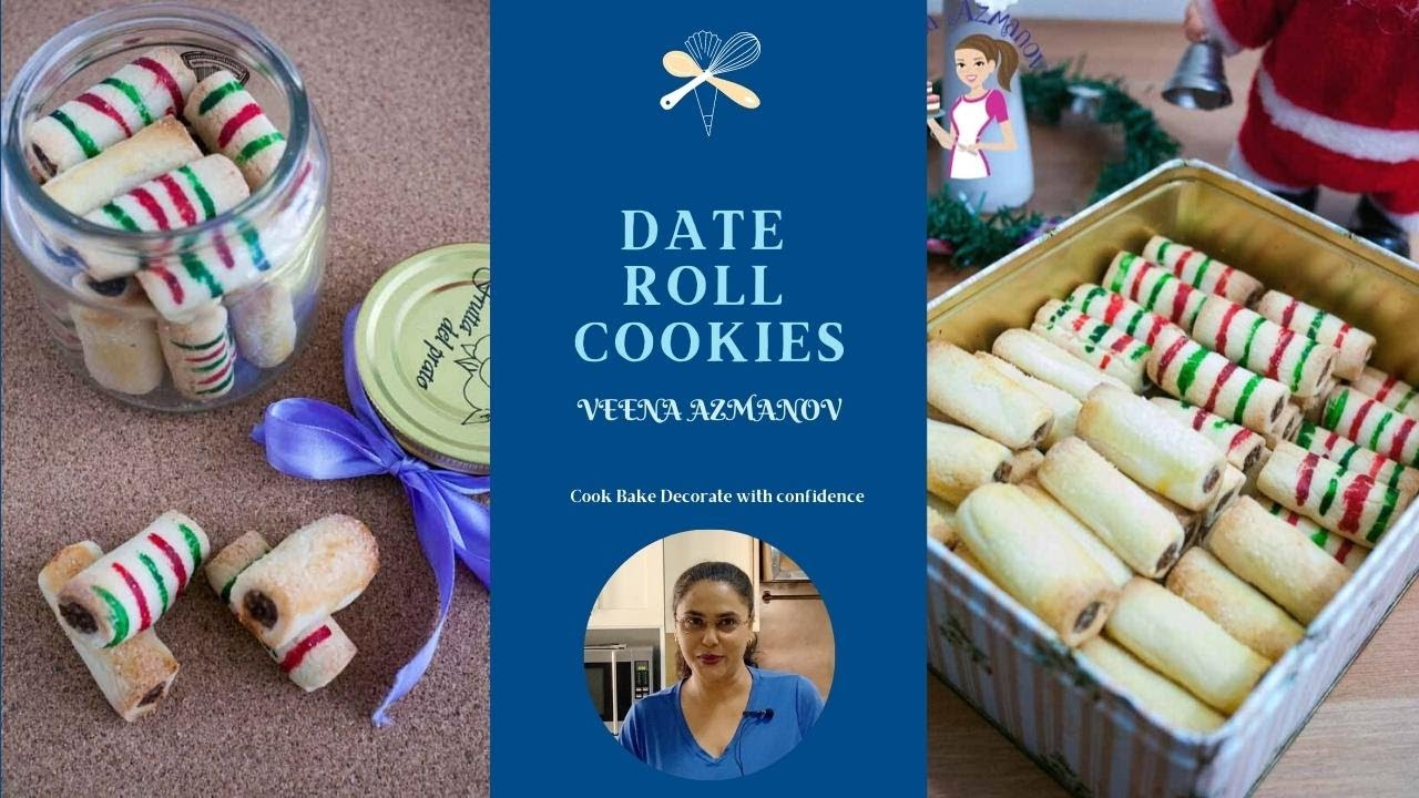 How To Make Date Roll Cookies Macadamia Date Roll Cookie Christmas Holiday Baking