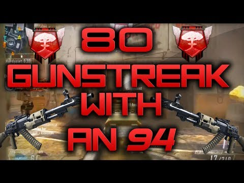 80 GUNSTREAK W/ AN-94! (Call Of Duty Black Ops 2: Nuclear Gameplay/Commentary)