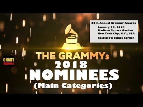 Grammy's 2018 - Nominees | The 60th Grammy Awards 2018 | Jan