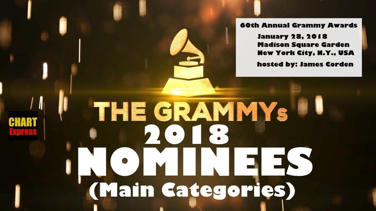 Grammy Awards: The 60th Grammy Awards 2018