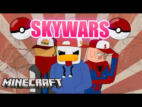MINECRAFT PVP: MAESTROS POKEMON EN SKYWARS...