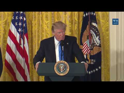WATCH: President Donald Trump Signs the VA Accountability and Whistleblower Protection Act of 2017