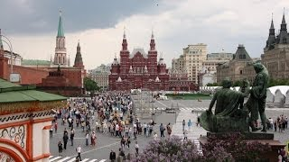 Russia - Moscow - Red Square...