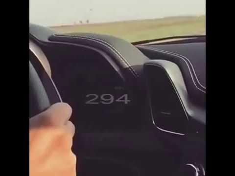 polemica el video de un ferrari que circula a 300 km/h por la ruta 2