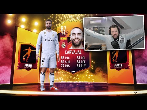 HEADLINER CARVAJAL SBC!! - FIFA 19 Ultimate Team