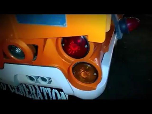 Truck Sayur Mbois Modifikasi Jingga Series