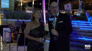 Speed Dating at the ISS Gala 2018 After Party with Jody Dunowitz of the Robb Report