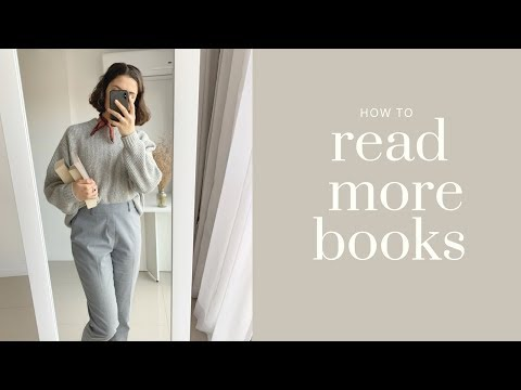 HOW TO READ MORE BOOKS! // Simple Victoria
