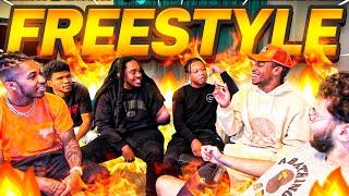 Adin Ross, DDG, Poudii, & B-Lou Freestyle on Stream!! 🔥🔥
