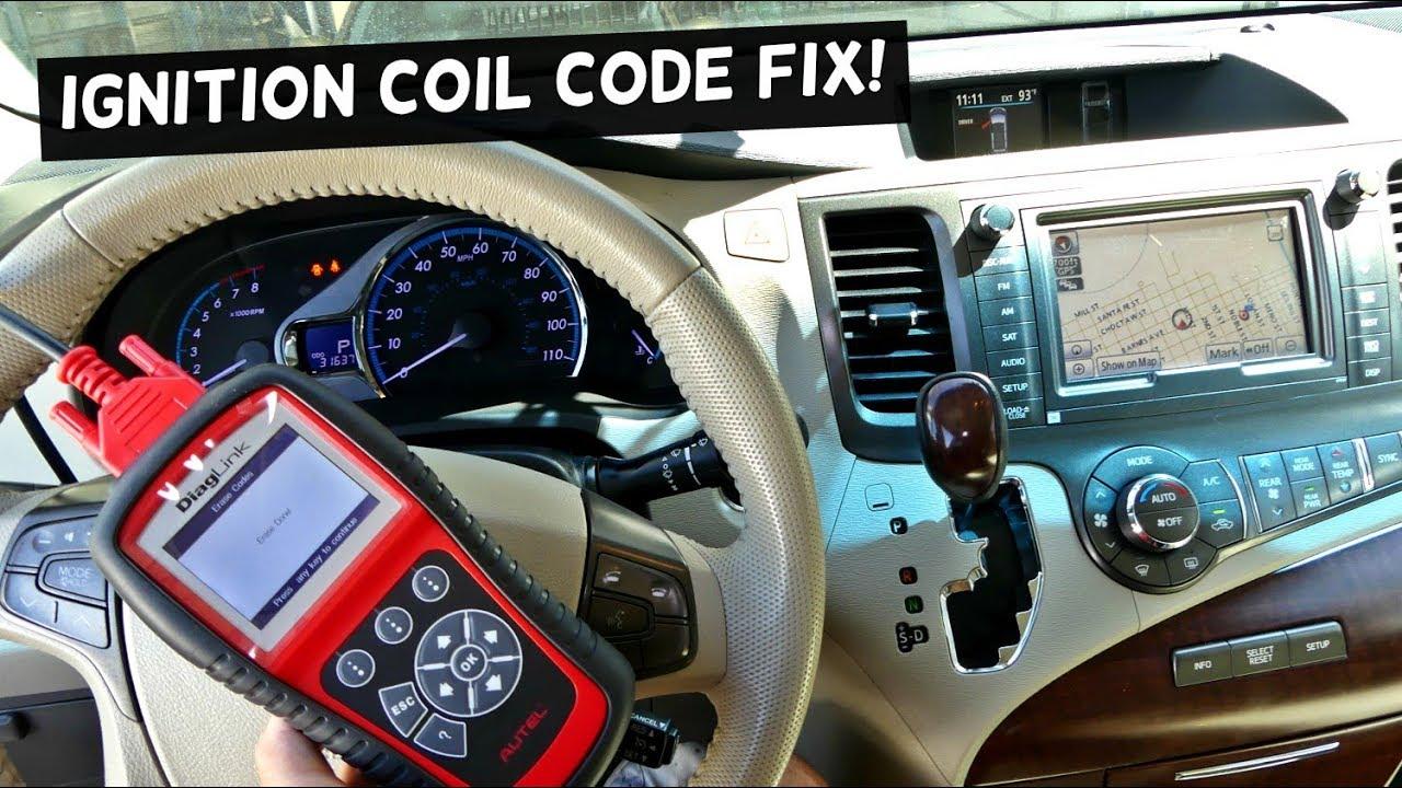 how to fix codes p0351 p0352 p0353 p0354 p0355 p0356 p0357 p0358 ignition coil problem [ 1280 x 720 Pixel ]