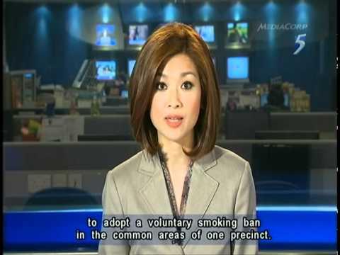 Singapore Channel 5 9 30PM News @ 21-03-2012