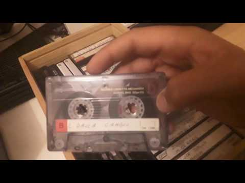 Presentazione audiocassette collezione