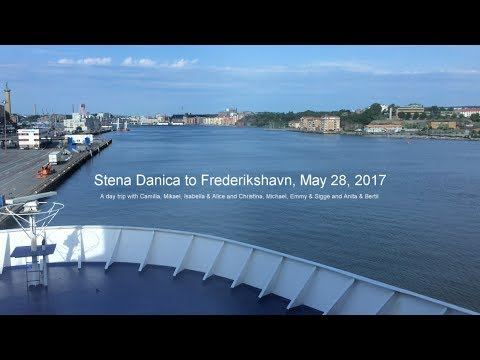 Stena Danica to Frederikshavn May 28 2017