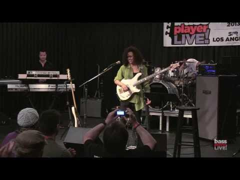Rhonda Smith at Bass Player LIVE! 2013