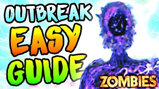 ULTIMATE OUTBREAK EASTER EĠG GUIDE (All Spawns/Locations/Easy Strategy - Cold War Zombies)
