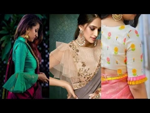 Top Saree Blouse Sleeves Designs 2020 Youtube